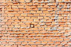 Wand des roten Backsteins, orange lizenzfreies stockbild