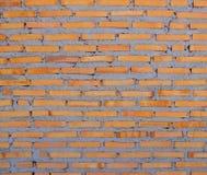 Wand des roten Backsteins wird noch, Beschaffenheitshintergrund errichtet lizenzfreie stockbilder