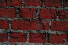 Wand des roten Steinhintergrundes Stockfotos