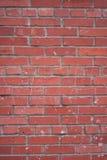 Wand des roten Ziegelsteines Stockfotografie