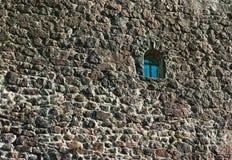 Wand des Schlosses Stockbild