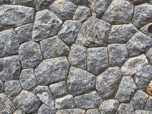 Wand des Steins als des Hintergrundes Lizenzfreie Stockbilder