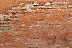 Wand des Ziegelsteines Stockfotografie