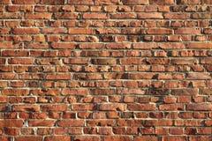 Wand des Ziegelsteines Lizenzfreie Stockfotos