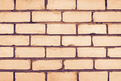 Wand des Ziegelsteines Stockbilder