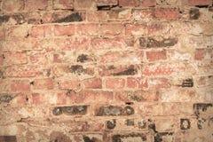 Wand des Ziegelsteines Stockbild