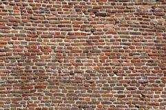 Wand des Ziegelsteines stockfoto
