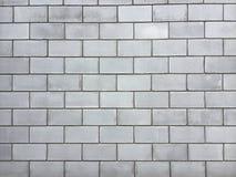 Wand eines großen Ziegelsteines Lizenzfreies Stockfoto