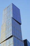 Wand eines Wolkenkratzers Lizenzfreie Stockfotos
