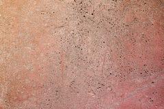 Wand gemalt im Rot Stockbilder