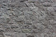 Wand hergestellt vom natürlichen Stein Stockfotos