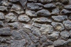 Wand hergestellt von den natürlichen Felsen Stockfoto