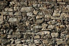 Wand hergestellt von den Steinen Stockfoto