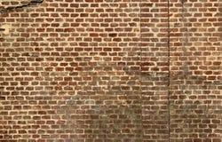 Wand hergestellt von den Terrakottaziegelsteinen Lizenzfreie Stockbilder