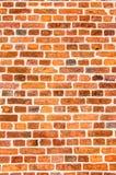 Wand-Hintergrund-Beschaffenheit des roten Backsteins Lizenzfreies Stockbild