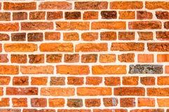 Wand-Hintergrund-Beschaffenheit des roten Backsteins Stockbild