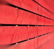 Wand im altem Baunagel und -haus stockfotografie