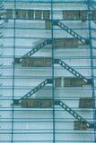 Wand im Baugerüst Lizenzfreies Stockbild