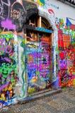 Wand John-Lennon Stockbild