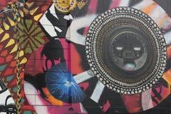 Wand-Kunst, Boston Massachusetts, im September 2014 stockbild