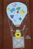 Wand- Kunst in Ost-Williamsburg in Brooklyn Lizenzfreies Stockfoto