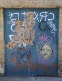 Wand- Kunst in Ost-Williamsburg in Brooklyn Stockfotografie