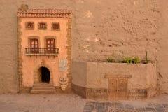 Wand-Kunst in Valencia Stockfotografie