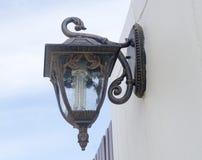 Wand-Lampe Stockfotografie