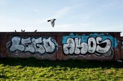 Wand Mailand Stockfotografie
