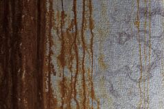 Wand mit als Hintergrund zu verwenden dem Rost, lizenzfreie stockfotografie