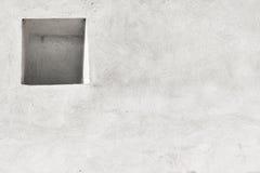 Wand mit der Nische Stockfotos