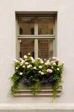 Wand mit Fenster Lizenzfreies Stockbild