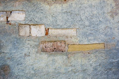 Wand mit Muster Lizenzfreie Stockbilder
