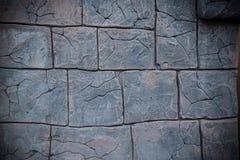 Wand mit Muster des Steins und des Ziegelsteines Lizenzfreies Stockfoto