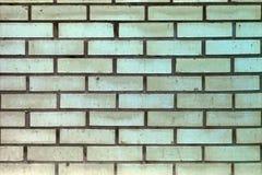 Wand mit Sand-farbigen Ziegelsteinen Stockfotografie