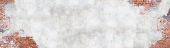Wand mit Schalengips, Schmutzhintergrund für Design Lizenzfreie Stockfotografie