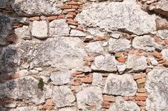 Wand mit Ziegelstein Lizenzfreie Stockfotografie