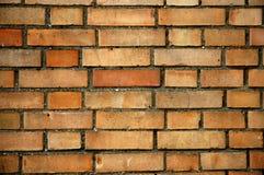 Wand mit Ziegelsteinen Lizenzfreies Stockfoto