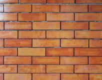 Wand-Musterhintergrund des roten Backsteins stockbilder