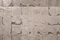 Wand ohne Fliesen Stockfoto