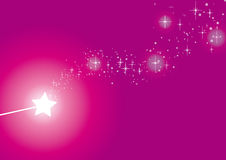 Wand pink Royalty Free Stock Photography