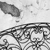 Wand, Schatten und Schattenbilder Städtischer Auszug Lizenzfreie Stockbilder
