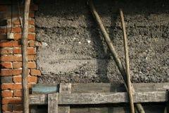 Wand und das Material Stockbilder