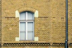 Wand und Fenster stockbild