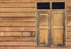 Wand und Fenster Lizenzfreie Stockfotografie