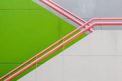Wand- und Geländerhintergrund Lizenzfreies Stockfoto