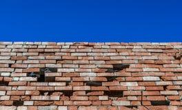 Wand und Himmel Lizenzfreie Stockfotografie