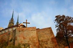 Wand und Kathedrale Lizenzfreie Stockbilder