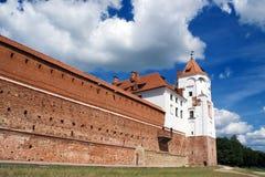 Wand und Kontrollturm Stockfoto