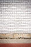 Wand und Pflasterung Stockfotografie